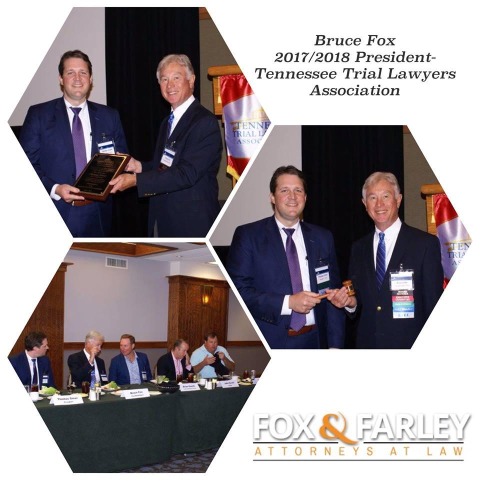 Bruce Fox - 2017/2018 President of TTLA